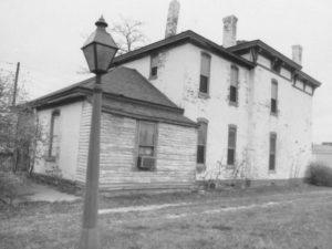 August K. Sommer House - rear